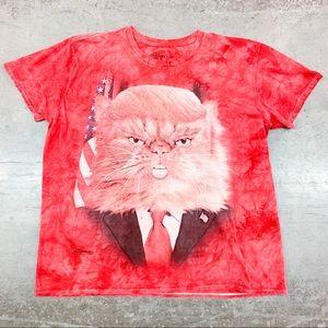 The Mountain President Donald Trump Cat T Shirt